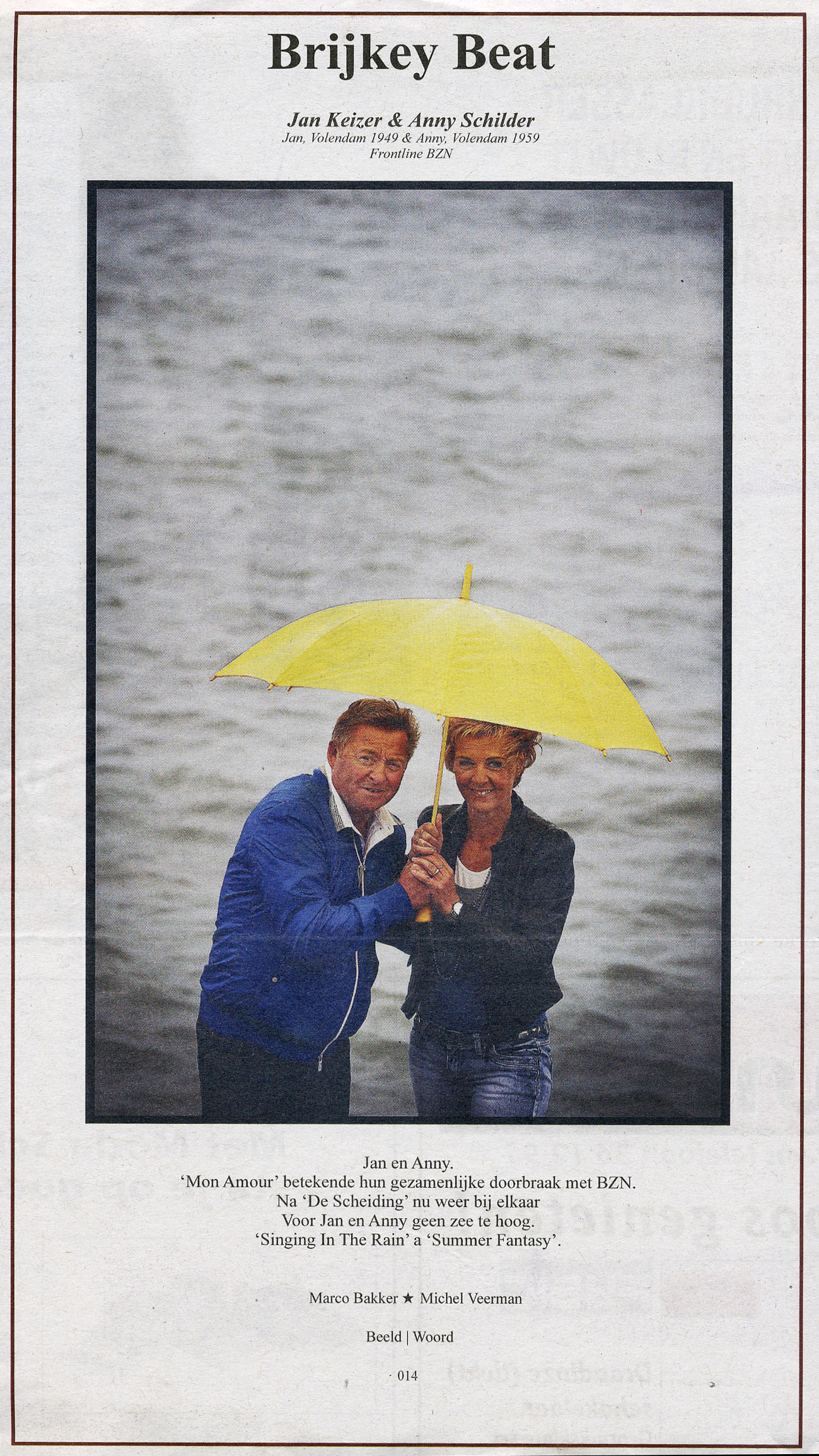 Jan Keizer en Anny Schilder